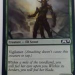 Greenwood Sentinel (M19) Magic the Gathering (MTG)