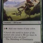 Llanowar Envoy (Dominaria) Magic the Gathering (MTG)
