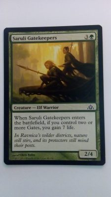 Saruli Gatekeepers (Dragons Maze) Magic the Gathering (MTG)