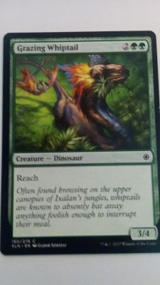 Grazing Whiptail (Ixalan) Magic the Gathering (MTG)