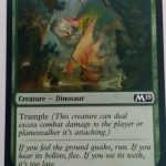 Colossal Dreadmaw (M19) Magic the Gathering (MTG)