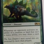 Runic Armasaur (M19) Magic the Gathering (MTG)