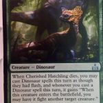 Cherished Hatchling (Rivals of Ixalan) Magic the Gathering (MTG)
