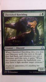 Cherished Hatchling (Rivals of Ixalan) Magic the Gathering (MTG)