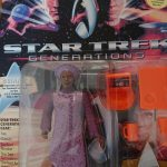 STAR TREK GENERATIONS GUINAN ACTION FIGURE