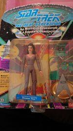 STAR TREK NEXT GENERATION Deanna Troi UNOPENED ACTION FIGURE
