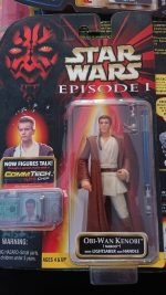 STAR WARS EPISODE 1 OBI-WAN KENOBI (Naboo) Figure
