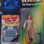 STAR WARS FREEZE FRAME ENDOR EWOK CELEBRATION PRINCESS LEIA FIGURE.