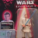 Star Wars - Rare Episode 1 - Obi-Wan Kenobi Commtech (CommTalk) Action Figure