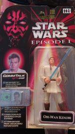 Star Wars - Rare Episode 1 - Obi-Wan Kenobi Commtech (CommTalk) Action Figure