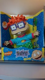 Vintage Rugrats Chuckie Finster Figure Soft Toy