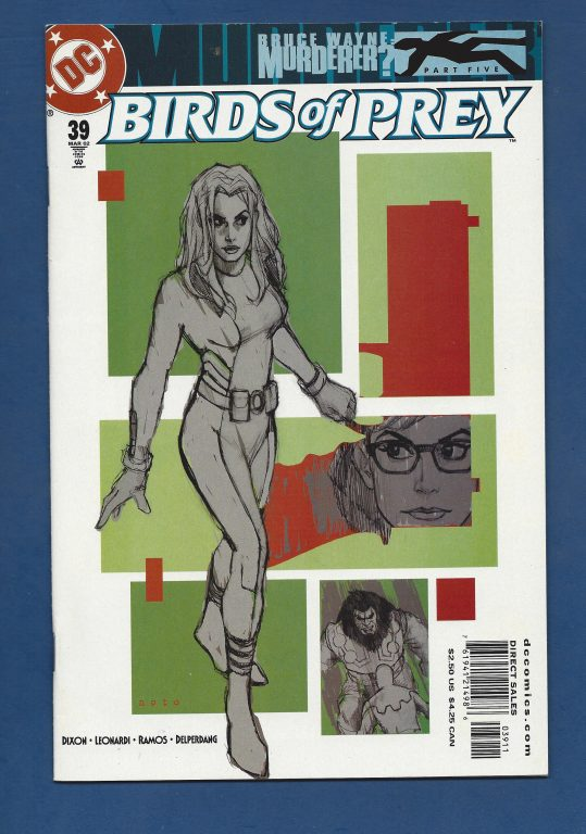 Birds of Prey #39 March 2002 DC (Comics)