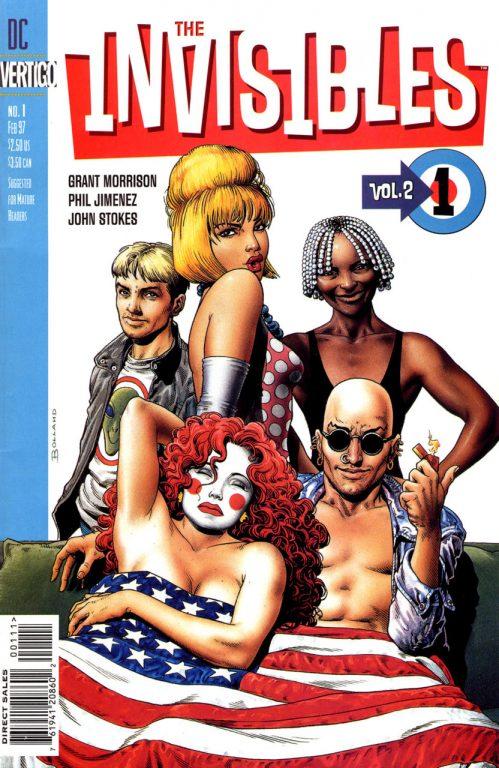 Invisibles Volume Two #1 Vertigo (Comics)