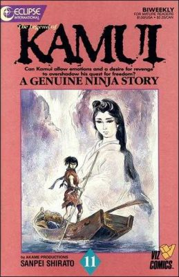 Legend of Kamui #11 October 1987 Buy Eclipse International Comics On-Line UK Comic Trader based in Newcastle