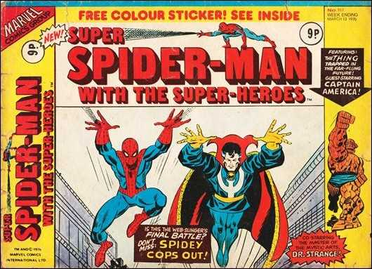 Super Spider-Man #161 March 1976 (Super Spider-Man with the Super-Heroes)  Buy MARVEL Comics On-Line UK Comic Trader based Newcastle
