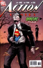 Action Comics #870 Brainiac Conclusion Buy DC Comics On-line comic shop North East England UK We also stock Marvel, Dark Horse and many others.