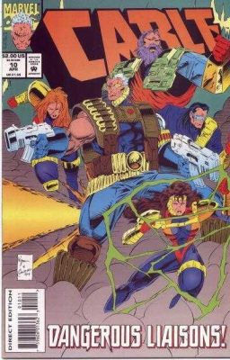 Cable #10 April 1994 Buy MARVEL Comics On-Line UK Comic Trader based Newcastle