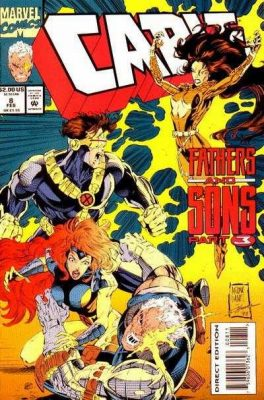 Cable #8 - Fathers and Sons, Part Three: Dayspring February 1994 Buy DC Comics On-Line UK Comic Trader based Newcastle