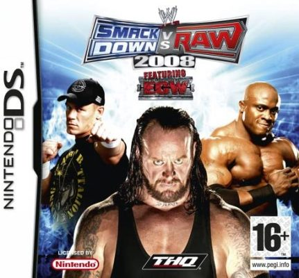 SmackDown Vs Raw 2008 (Nintendo DS)