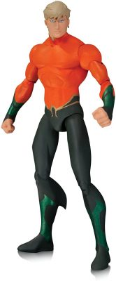 "DC Comics Throne of Atlantis Aqua Man (Action Figure)  Based on designs of the much anticipated Justice League: Throne of Atlantis animated movie comes the next wave of action figures from DC Collectibles! Aquaman stands 6.75"" H.     Buy DC Comics Collectables On-line Comic Shop Newcastle"