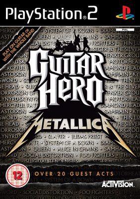 Guitar Hero Metallica (PS2) Game Only