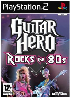 Guitar Hero Rocks the 80s (PS2) Game Only