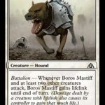 Boros Mastiff Magic the Gathering (Dragons Maze) (MTG)