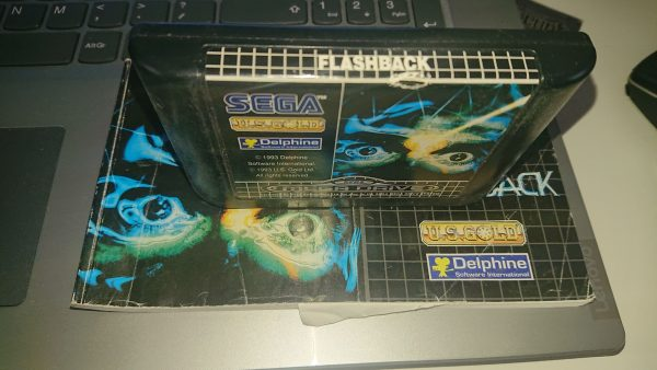 Flashback (Mega Drive) Label