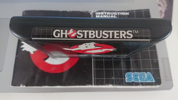 Ghostbusters (Mega Drive) Label