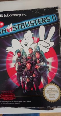 New Ghostbusters 2 (NES) Game + Box No Manual