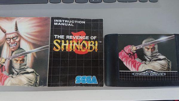 Revenge of Shinobi (Mega Drive) Cart and Manual