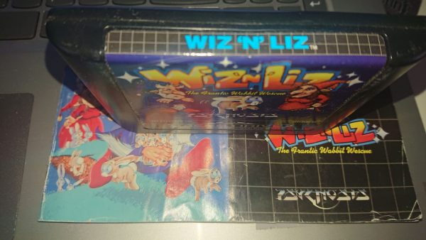 Wiz N Liz (Mega Drive) Label