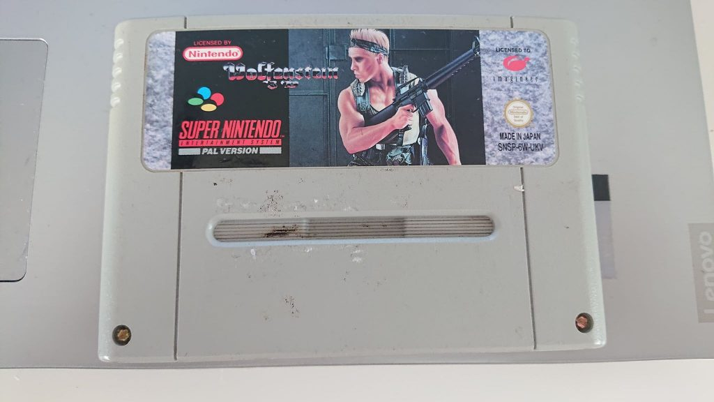 Wolfenstein 3D SNES (Cart Only)