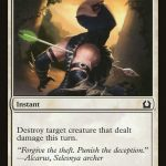 Avenging Arrow (Return to Ravnica) (MTG)