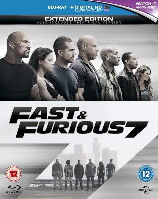 Fast & Furious 7 (Blu-ray)