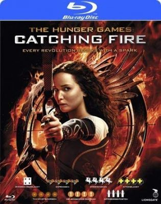 Hunger Games Catching Fire (Blu-ray) (2 disc)