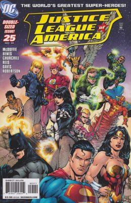 Justice League of America #25 November 2008